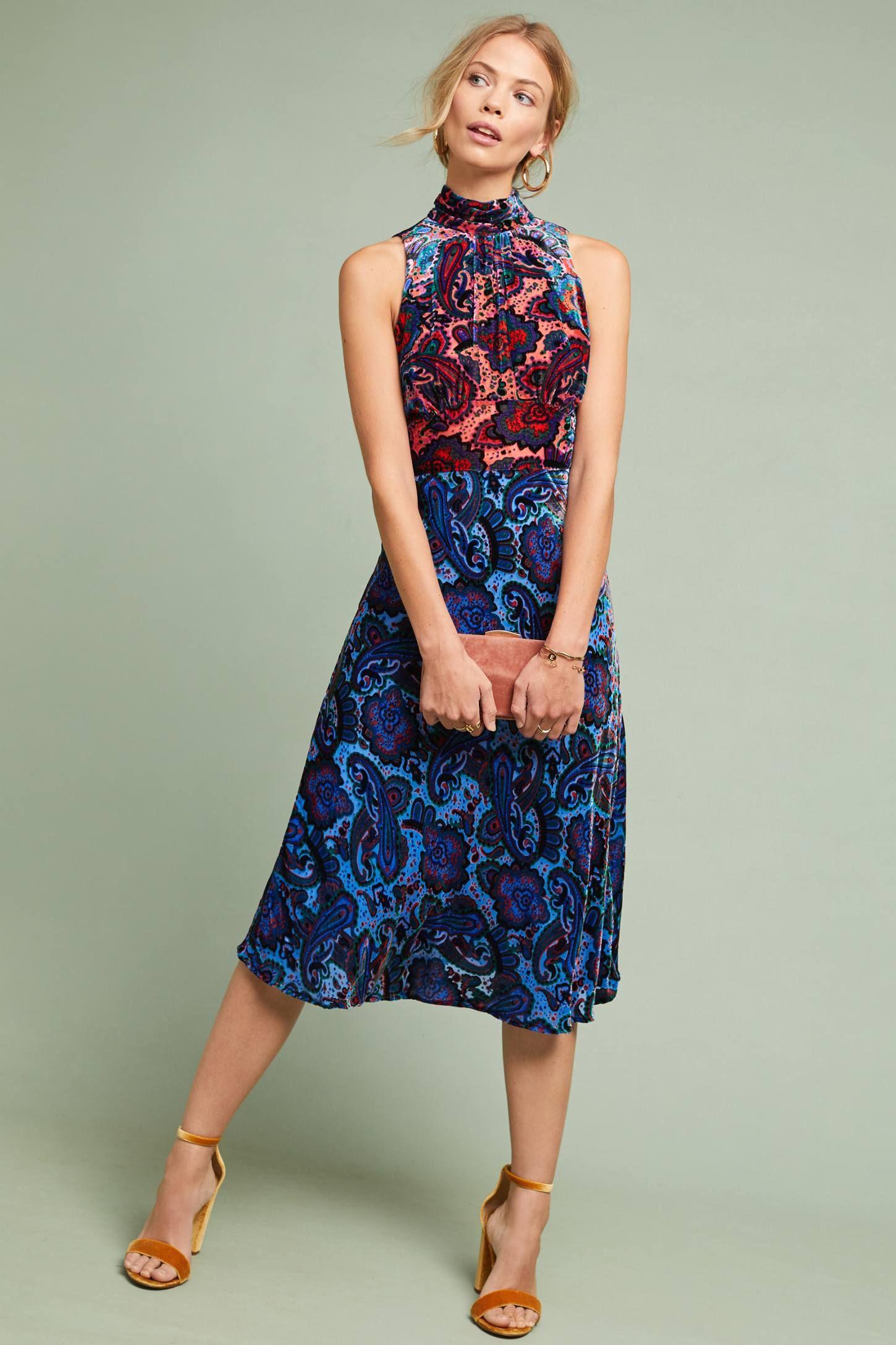 2509f4baa750b Rumie Velvet Dress in 2019 | Clothes | Dresses, Column dress ...