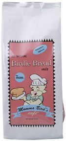 Momma's Birdie Bread - Original This is the birdie bread that put Momma's Cafe on the map.  Our signature loaf is studded with succulent cherries, blueberries, sweet potato, carrots and corn, a hint of coconut and the crunchy goodness of healthy seeds and nuts.  One taste and you'll need to buy it by the case to keep it in stock for your flock.