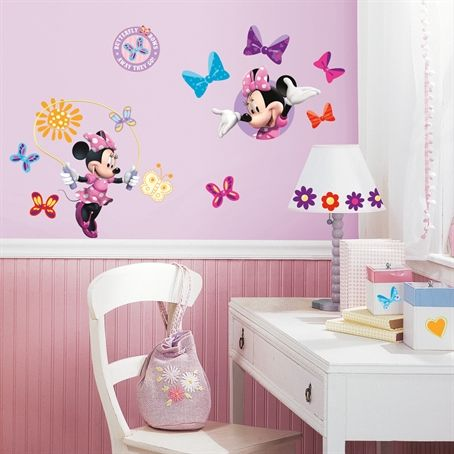 Minnie Mouse Bow-tique Wall Decals RMK1666SCS