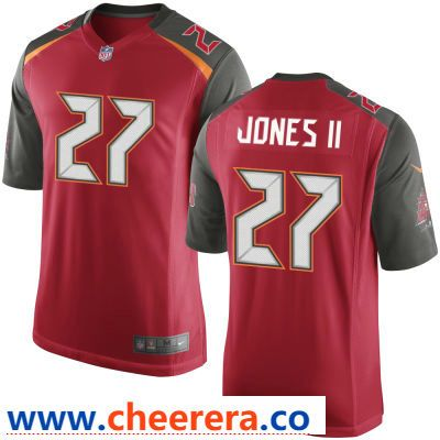 49eb4352f ... norway mens tampa bay buccaneers 27 ronald jones ii red team color  stitched nfl nike game