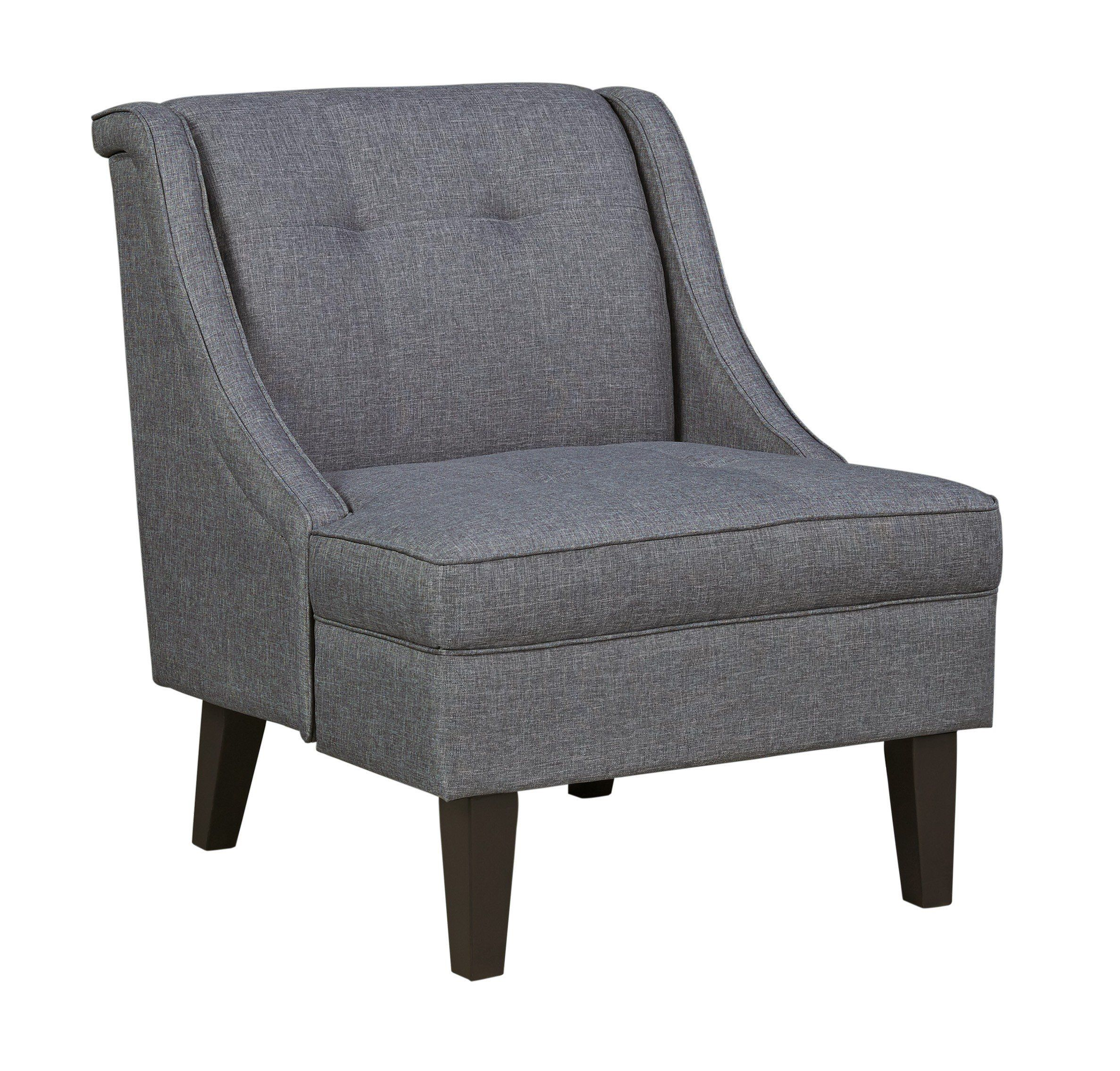 Best Signature Design By Ashley Calion Gunmetal Accent Chair 640 x 480