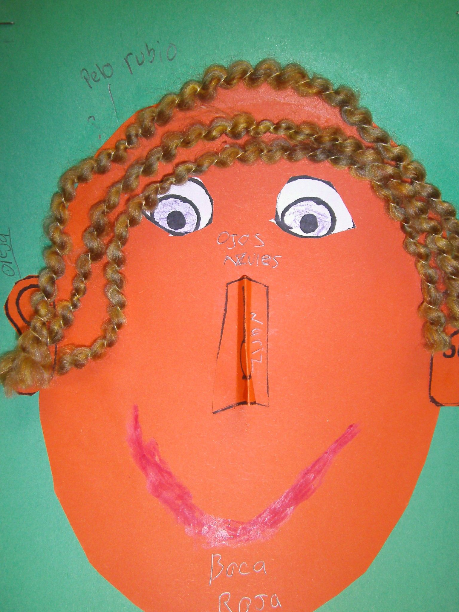 Facial features in Spanish #Montessori #Brookeside #spanish #elementaryspanish Bechtelsville, PA 19505