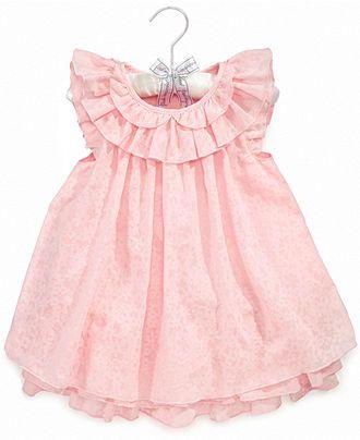 Ralph Lauren Baby Dress, Baby Girls Floral Dress - Kids Baby Girl ...