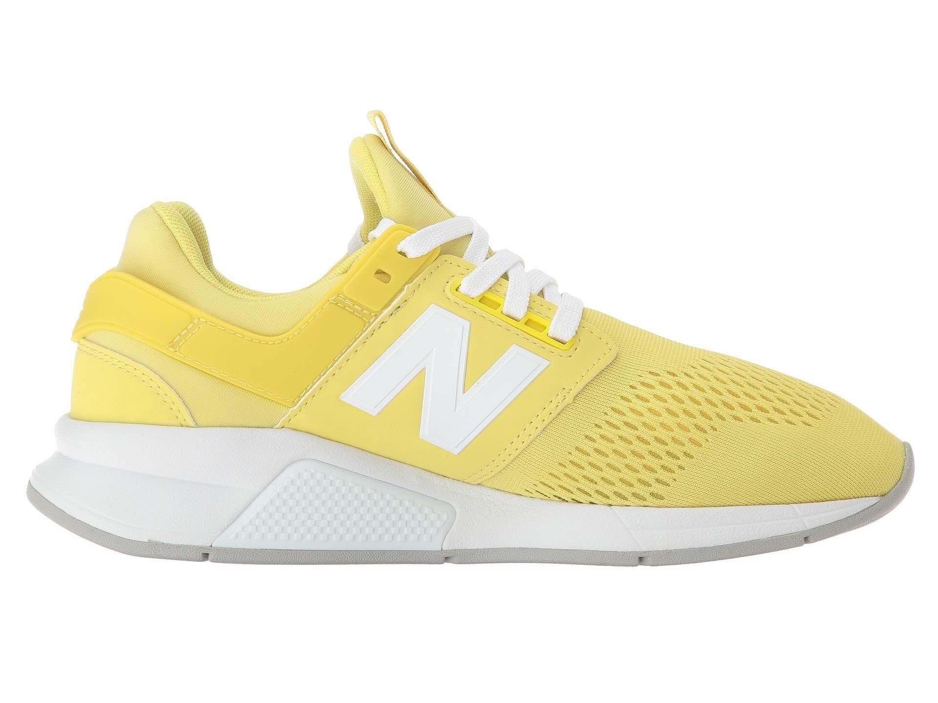 159971d6b663b New Balance Women 247 Tritium WS247UG, Lemonade with White   Shoes ...