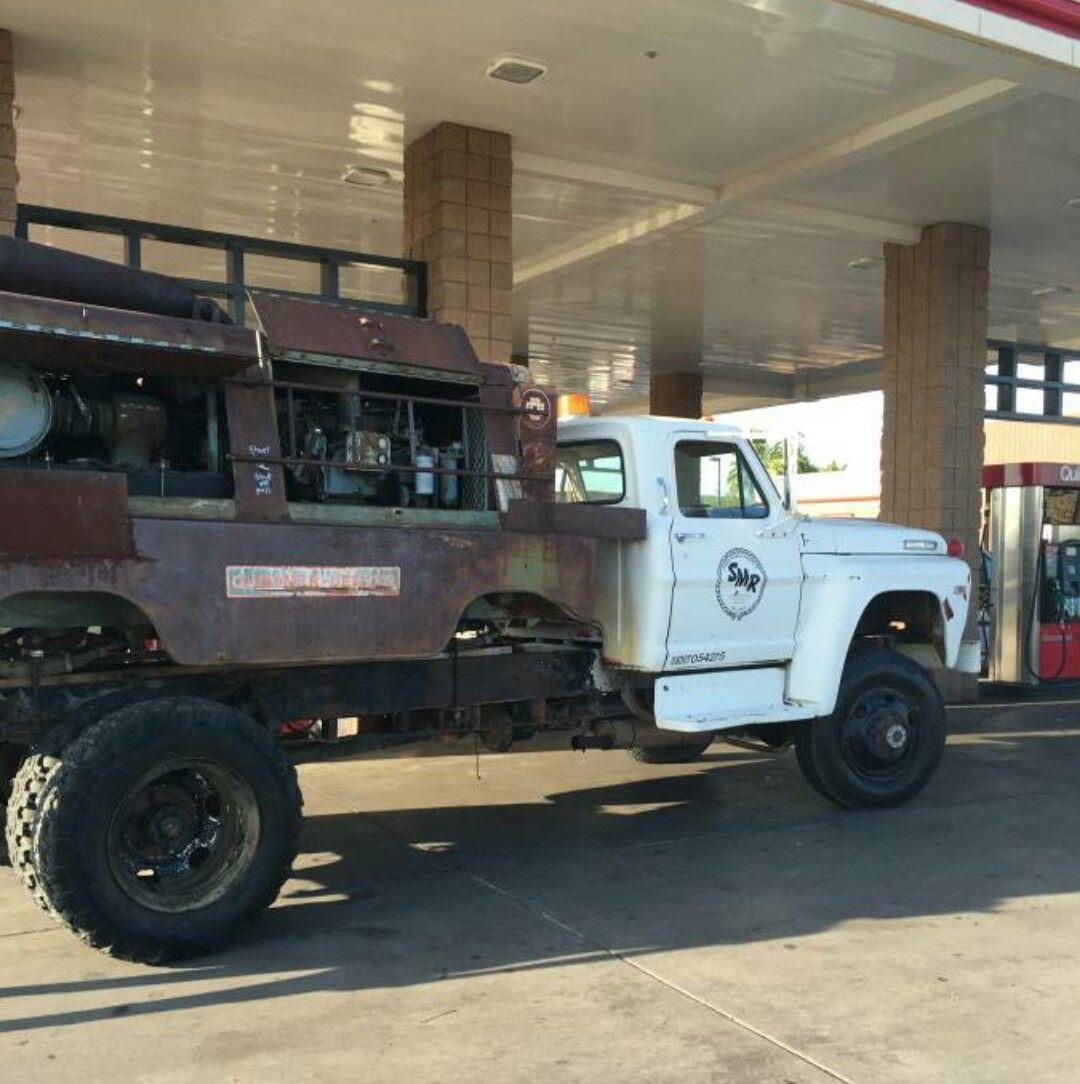 1971 Ford F600 4x4 I Found On Craigslist Big Trucks Old Ford Truck 4x4 Trucks