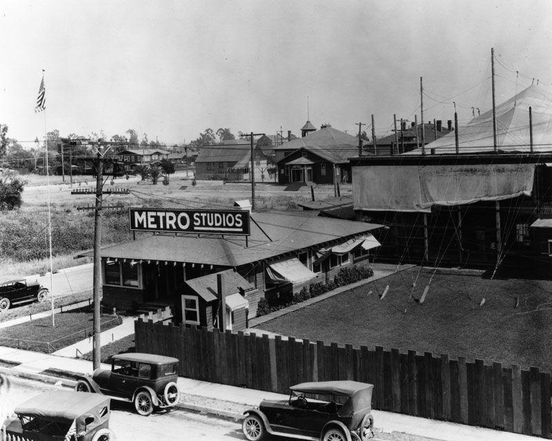 Metro Studios 1920s Metro Pictures Los Angeles History California History