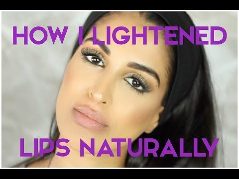 Lighten Dark Upper Lips | body health | Lip lightening, Dark