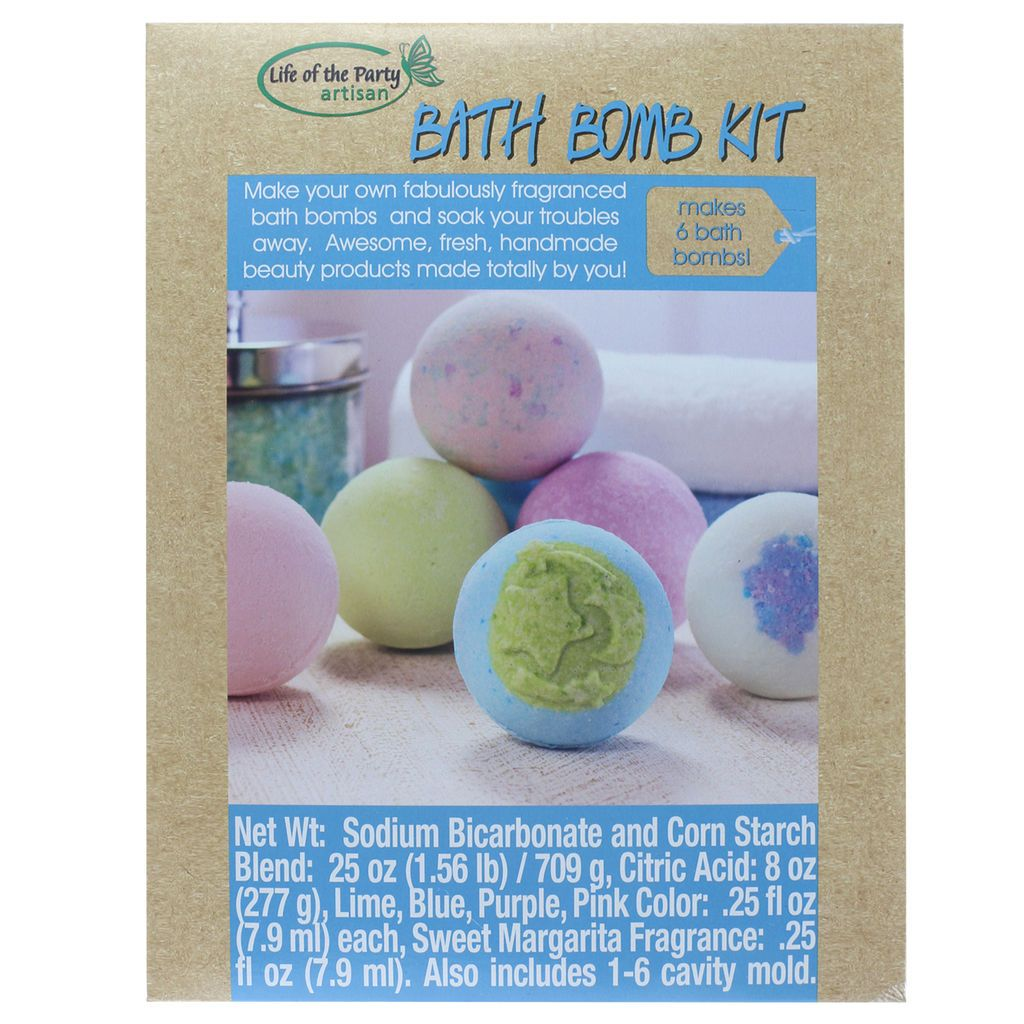 Life of the Party Bath Bomb Kit | Bath bomb kit, Bath bombs, Bath bomb molds