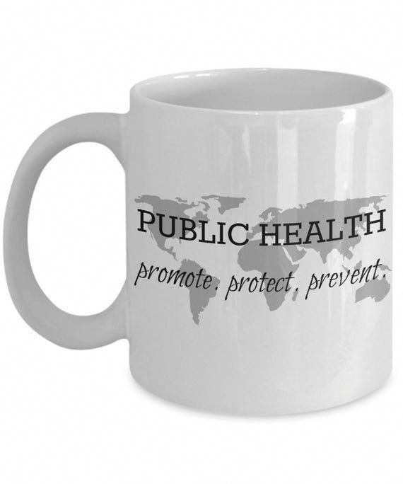 Public health mug promote protect prevent coffee mug gift | Etsy