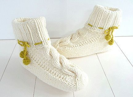 Photo of Knitting instructions – slippers