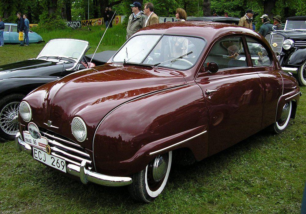 Saab 92B, 1954 [Auta5P ID13066 EN] in 2020 Saab models