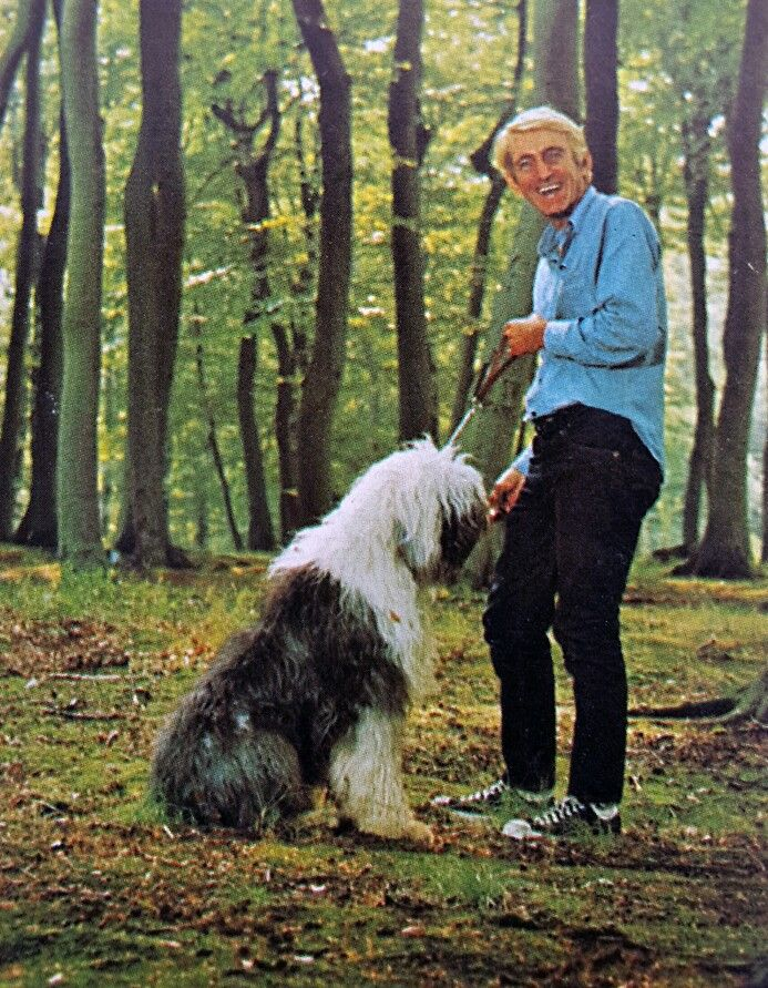 Rod and his dog