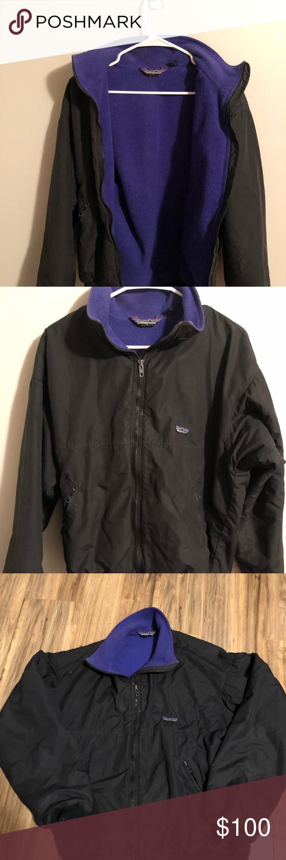 Vintage Patagonia Bomber Jacket Men S Fleece Lined Jacket Patagonia Jackets Coats Bomber Varsity Jackets Clothes Design Vintage Patagonia [ 1740 x 580 Pixel ]