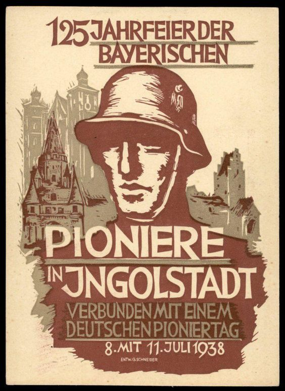 WA66 Vintage WWI German British Bombing Propaganda War Poster WW1 A4