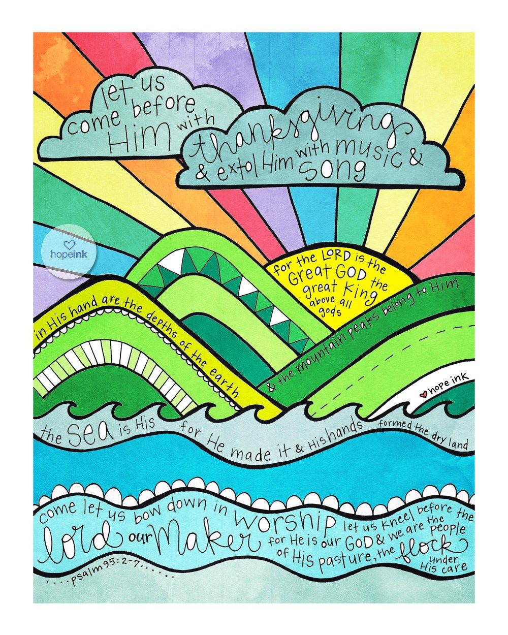 Printable Scripture Art Coloring Sheets For Thanksgiving ...