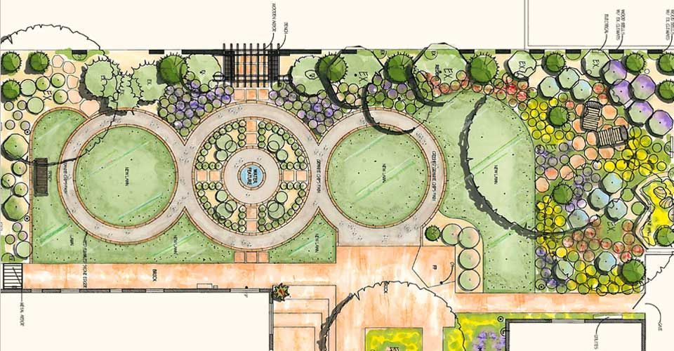 Landscape Plan Drawing With Images Landscape Design Drawings