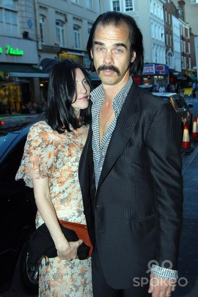 Susie and Nick Cave