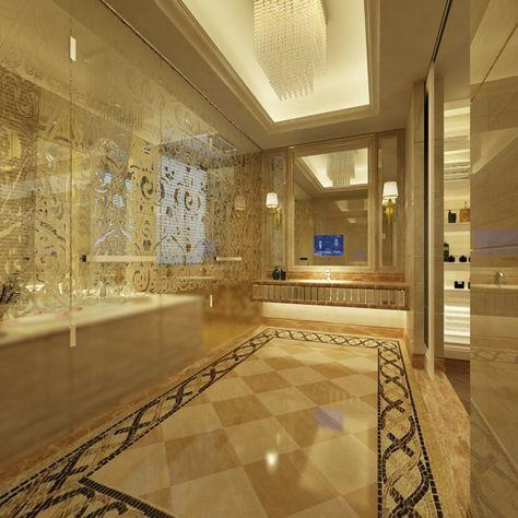 Cuartos de baño con marmol - ideas únicas de ensueño ...