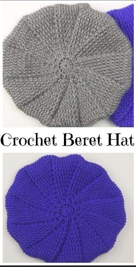 Crochet Beret Hat – Crochet Ideas | Häkeln: Schals und Tücher ...