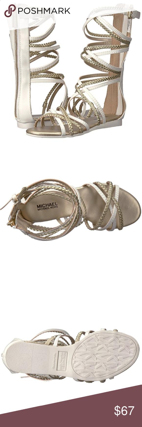 7cb1e0e8d6 Michael Kors | Girls Gladiator Sandal | Size 3 MICHAEL Michael Kors Demi  Kayla - Gladiator