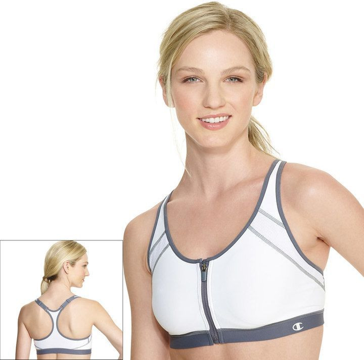 257df659d8f9e Champion Bra  The Zip Front-Close High-Impact B7920