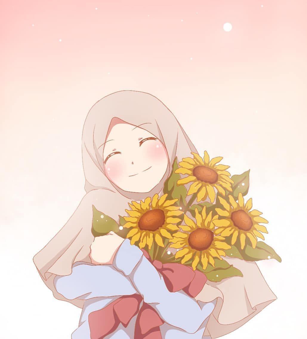 Pernah Terfikir Nggak Kalo Kamu Hidupnya Bahagia Terus Tanpa Bertemu Rasa Sakit Kira Kira Kamu Akan Jadi Orang Ya Anime Muslimah Anime Muslim Islamic Cartoon