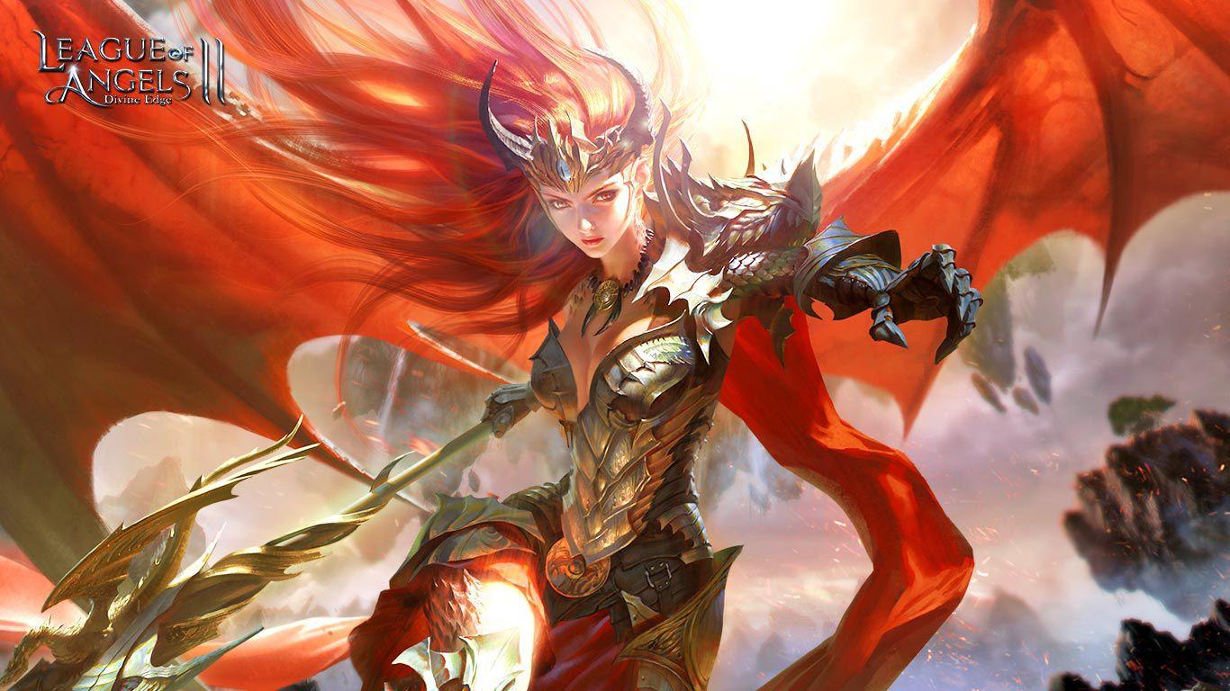 Theresa - The hybrid Dragon Angel