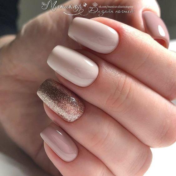 10 diseños de uñas elegantes para las que aman las uñas cortas