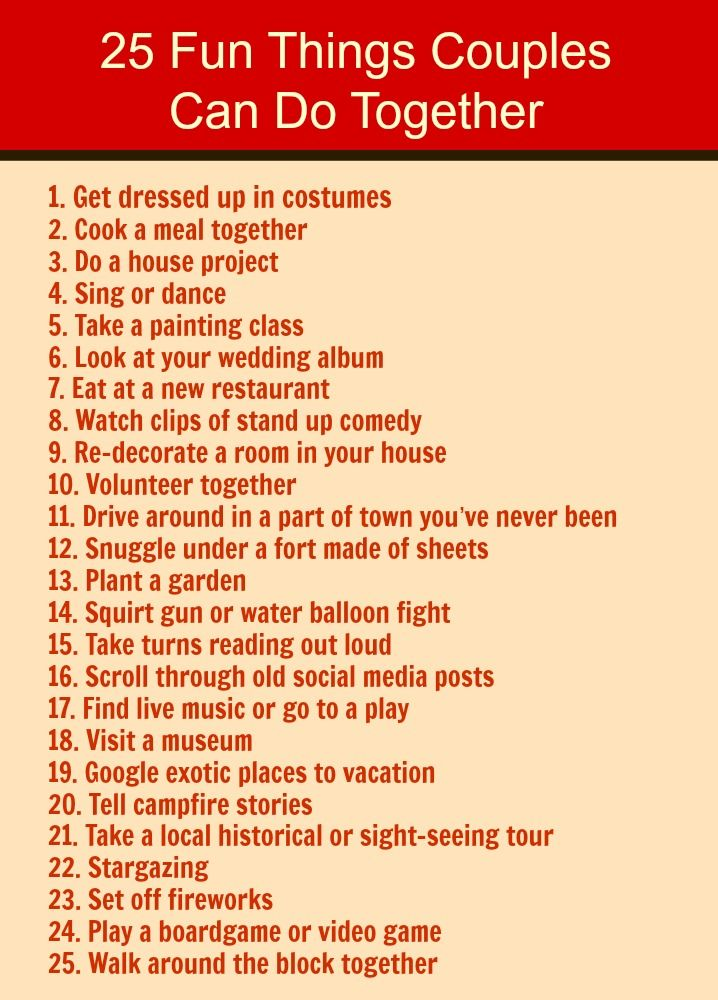 Fun dating ideas for couples over 50