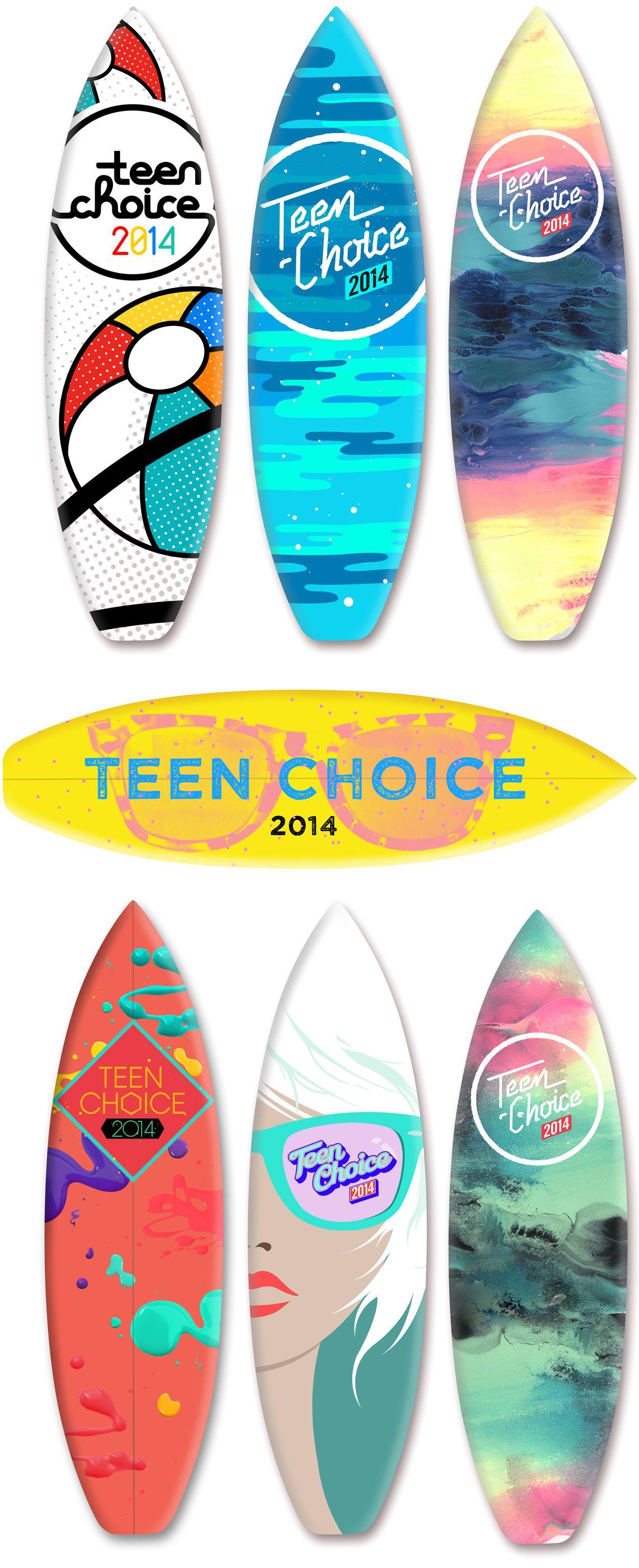 Teen Choice Awards 2014 Logo - Ben Yonda - Creative Direction/Design