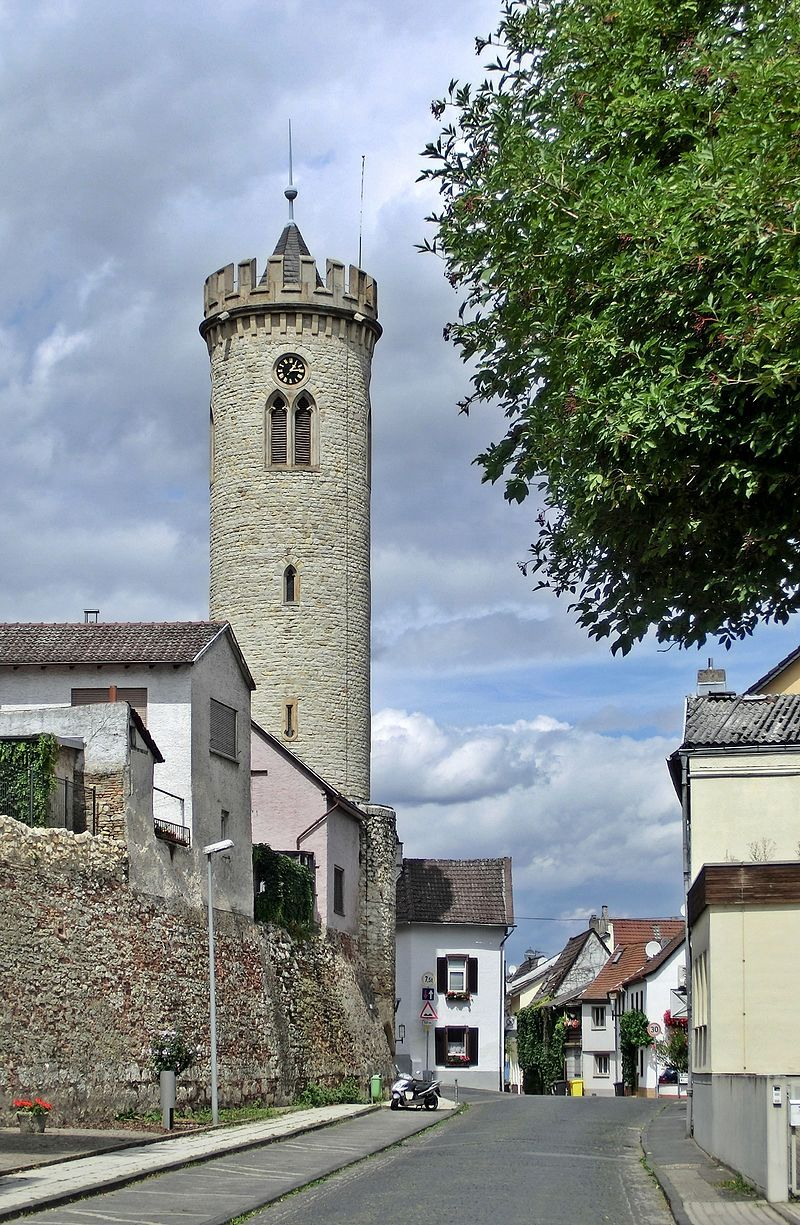 Oppenheim/Rheinland Pfalz, Uhrturm