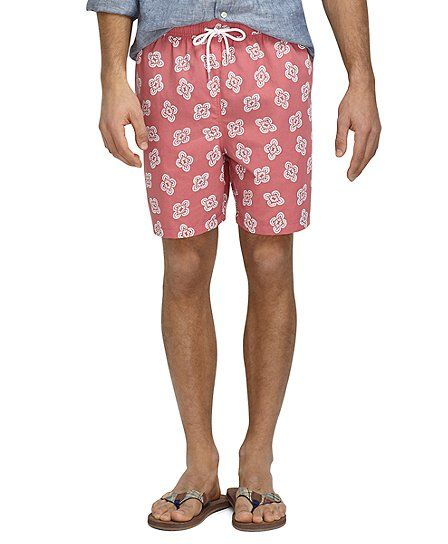 f219d72132aa9 Holly Berry Brooks Brothers, Sport Shorts, Patterned Shorts, Swim Trunks, Bathing  Suits