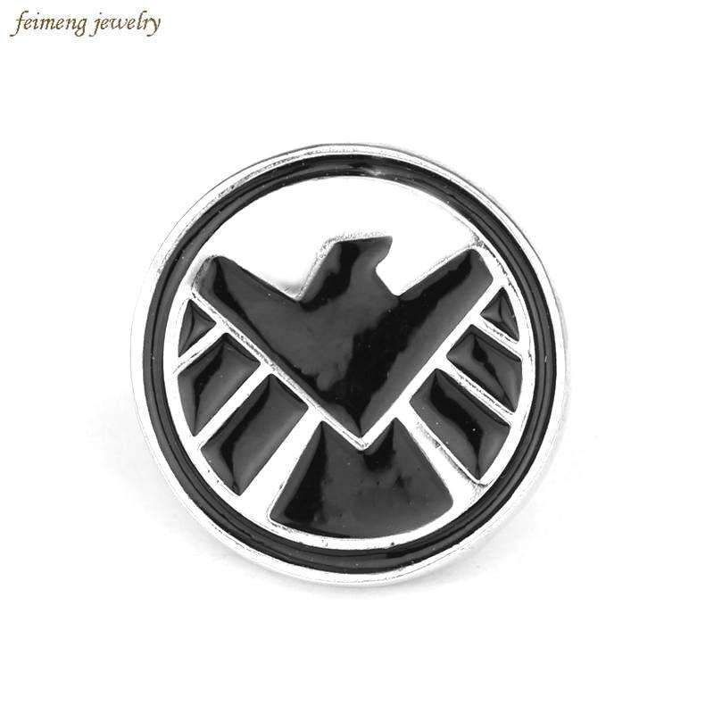 Free Shipping The Avengers Agents Of Shield S H I E L D Brooches Pin High Quality Badge Lapel Pin Men Jewelry Stores Near Me Jewelers Near Me Lapel Pins Mens
