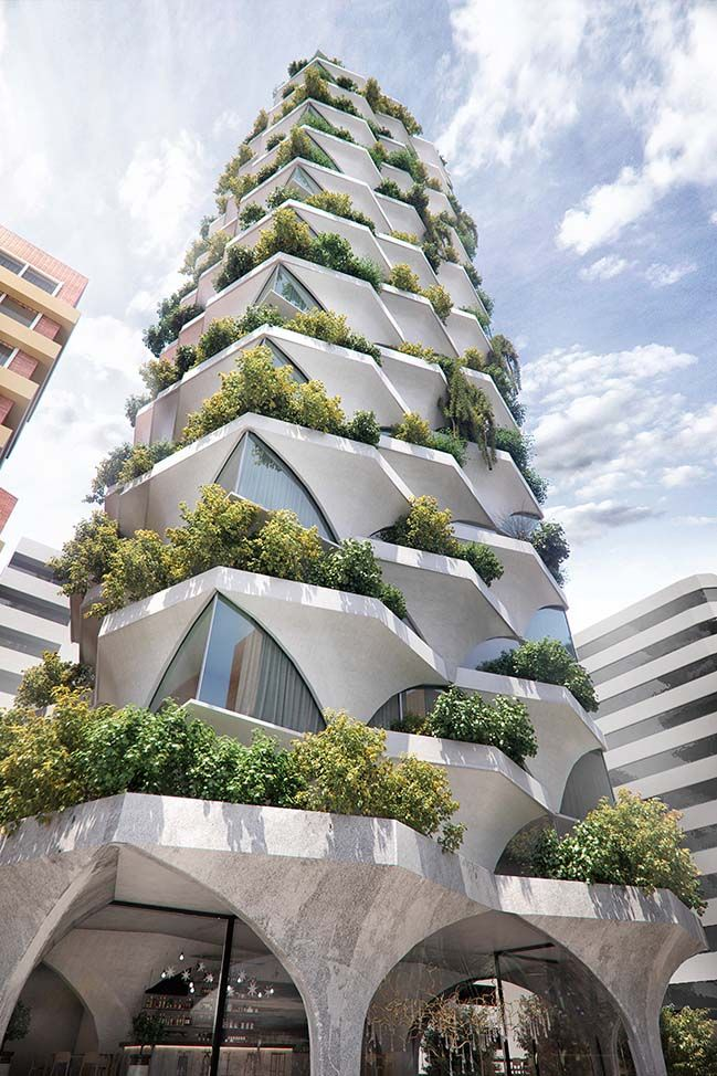 Sunflower Tower by odD+ Architects #architecture