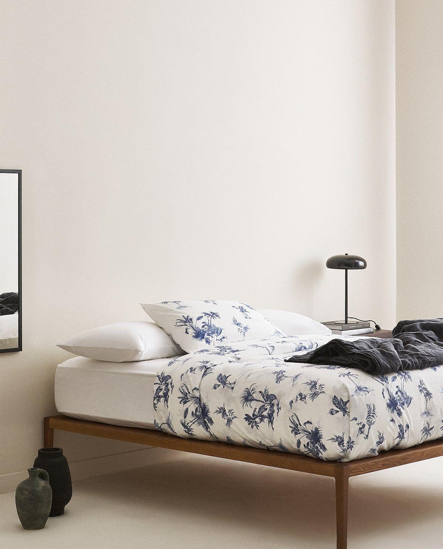 Zara Home Biancheria Da Letto.Zara Home Scopri Le Ultime Novita Fillyourhomewithlove Dekbedovertrek Zara Blauw