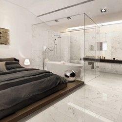 Carrelage Sol Et Mur Effet Marbre Alba Chambre Parentale Salle De Bain Chambre Design Et Marbre