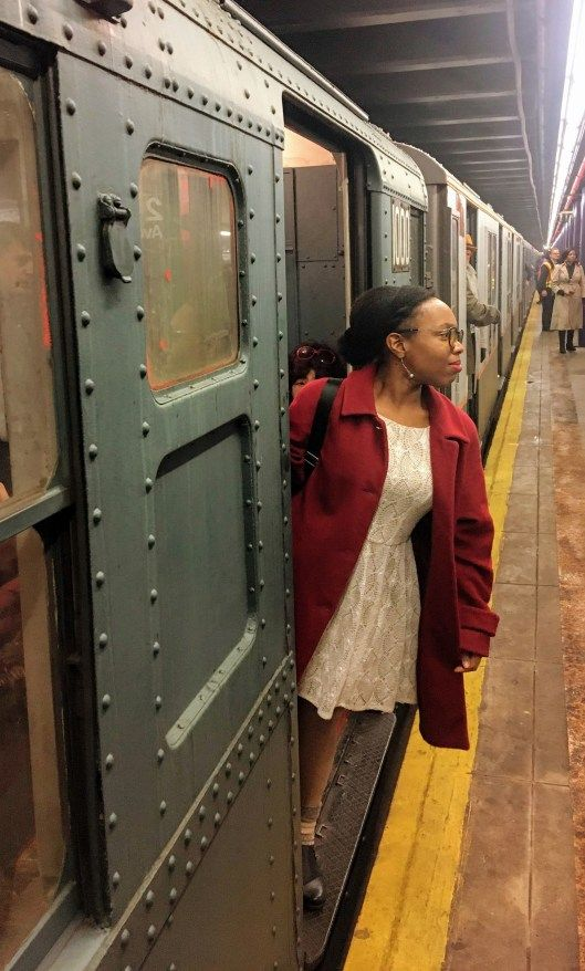 Top Tips for Taking the MTA's Holiday Nostalgia Train Ride in NYC! Every Sunday in December the MTA and the New York Transit Museum put their vintage fleet of 1930s trains back in service and allow the public to take a ride down memory lane for just the price of a MetroCard swipe. Here's what you need to know about this NYC tradition.  #nycthingstodo #nycholidays #nycguide #nycsubway #nycchristmas #christmasinnewyork