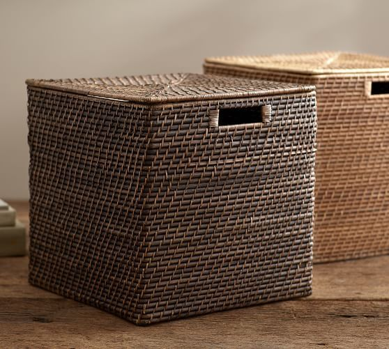 587e80e80416 Clive Tightweave Large Storage Cube in 2019 | Mud Room | Cube ...