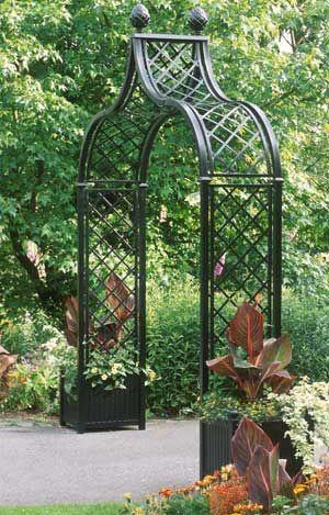 Victorian Gardens Garden Structures Garden Arches