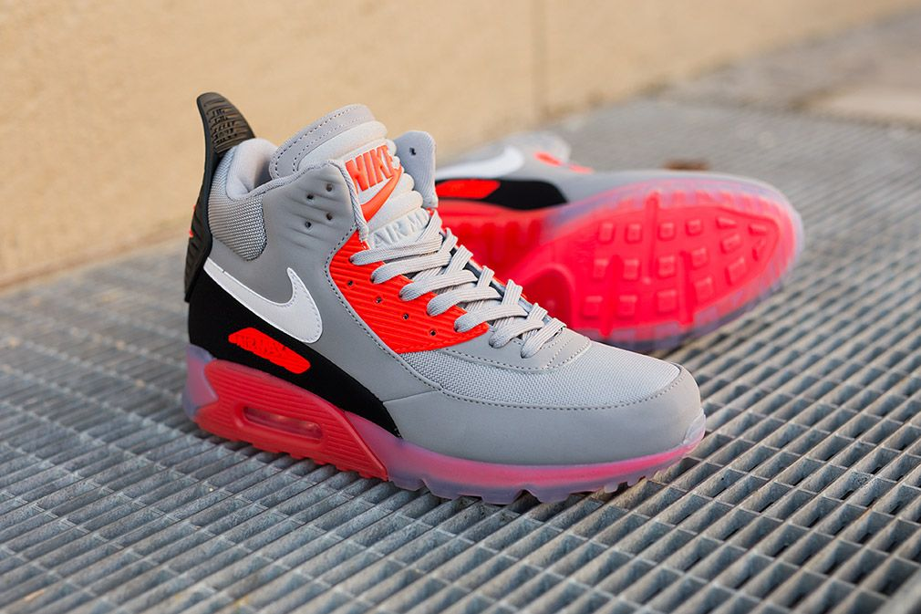 nike air max 90 sneaker boot infrared spectroscopy