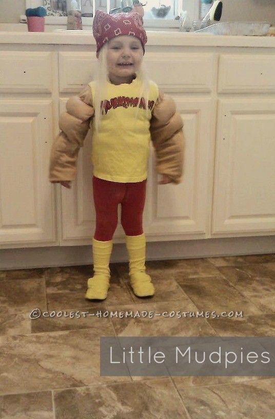 Coolest Hulk Hogan Costume for a 2 Year Old Boy | Hulk hogan ...