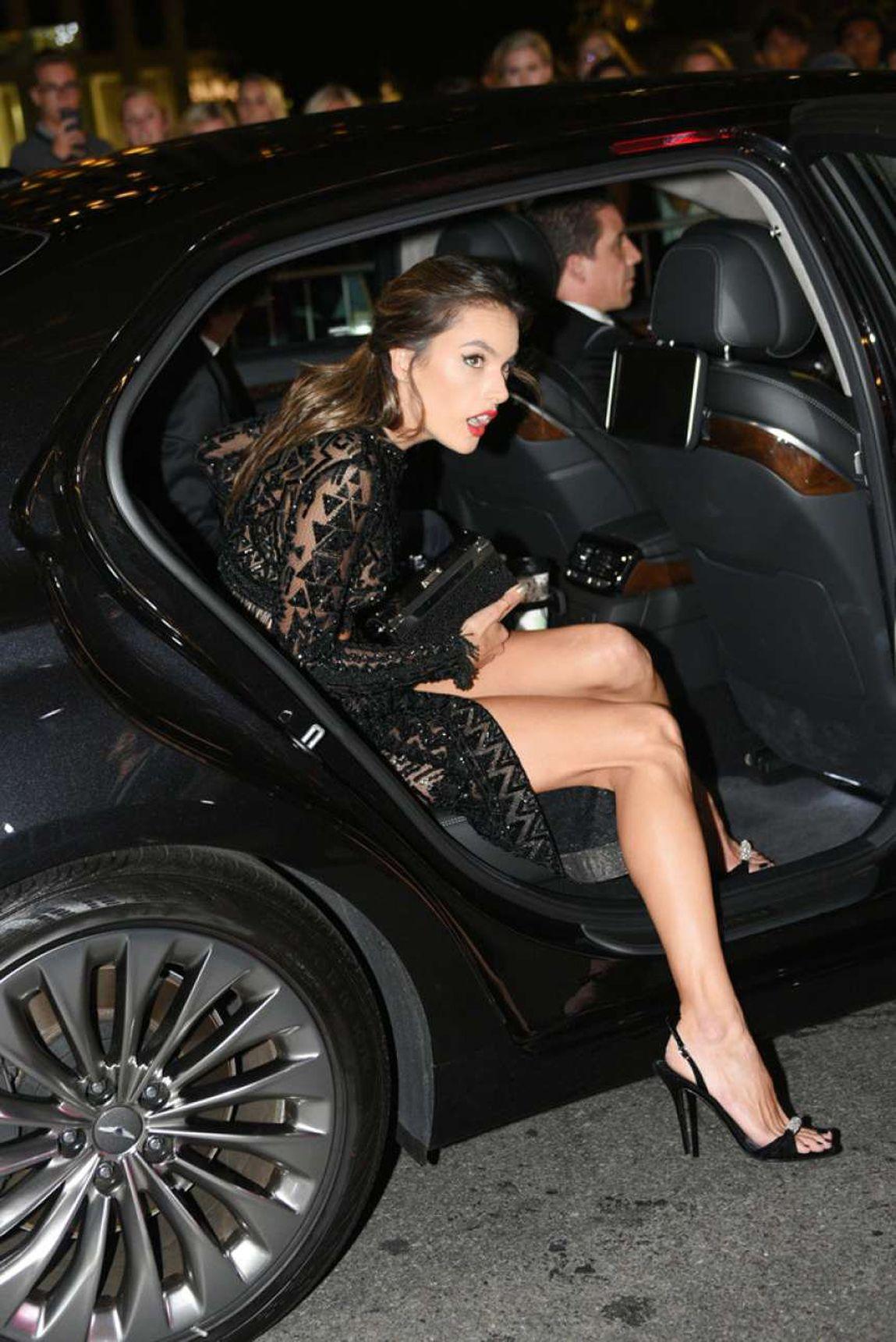 Alessandra Ambrosio Black Dress Alessandra ambrosio