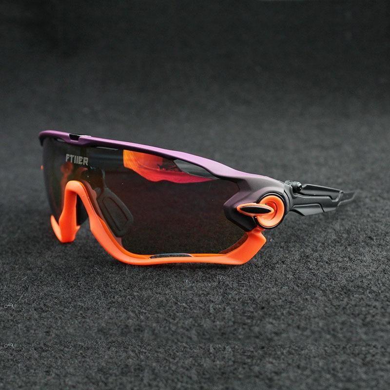 5 Lens Men S Polarized Cycling Sunglasses Cycling Sunglasses