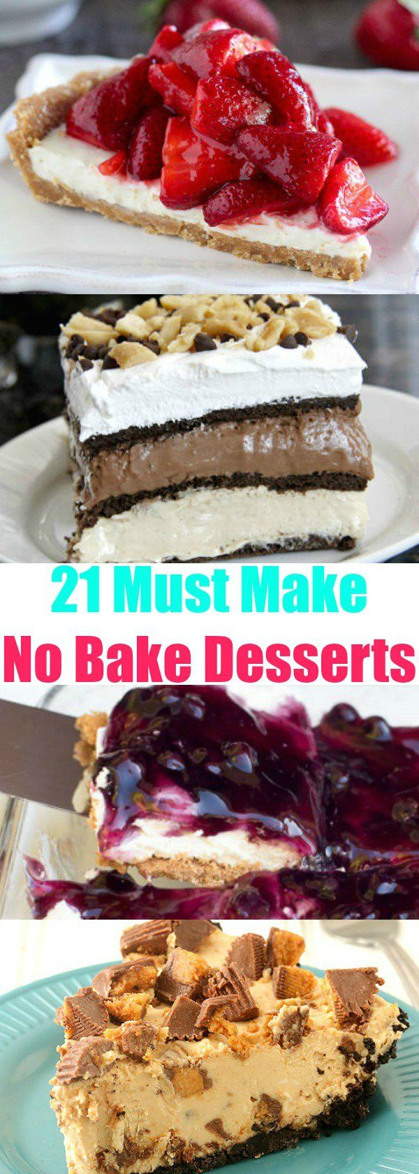 21 Must-Make No-Bake Desserts