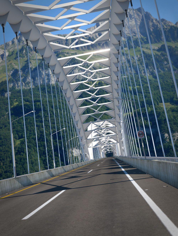 Suspension Bridge, Andrew Price on ArtStation at https://www.artstation.com/artwork/o08nz