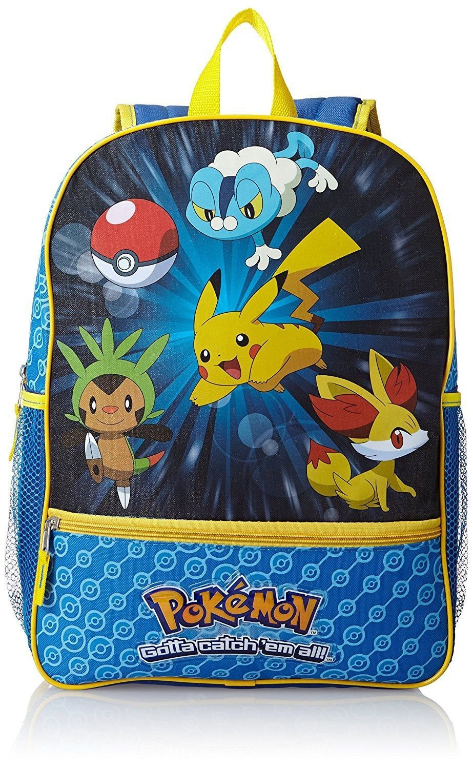 1221eb5d4a02 Large Kids Pokemon Backpack - Catch  em All