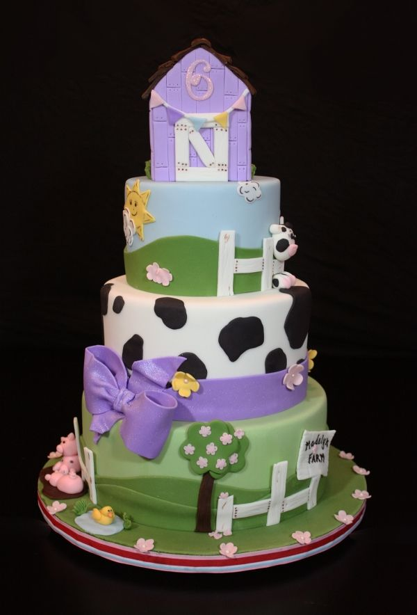 Wondrous Farm Fresh Farm Cake Funny Birthday Cards Online Inifodamsfinfo