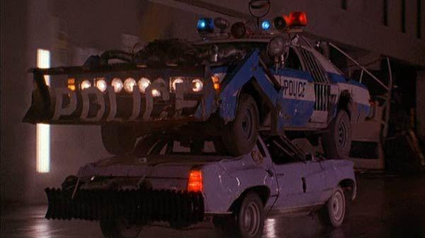 Police Car Super Mario Bros Movie