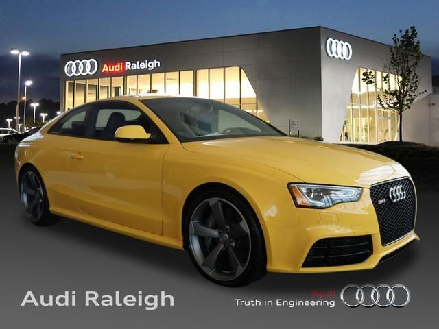Yellow Audi RS At Audi Raleigh My Dream Car Garage Pinterest - Audi raleigh