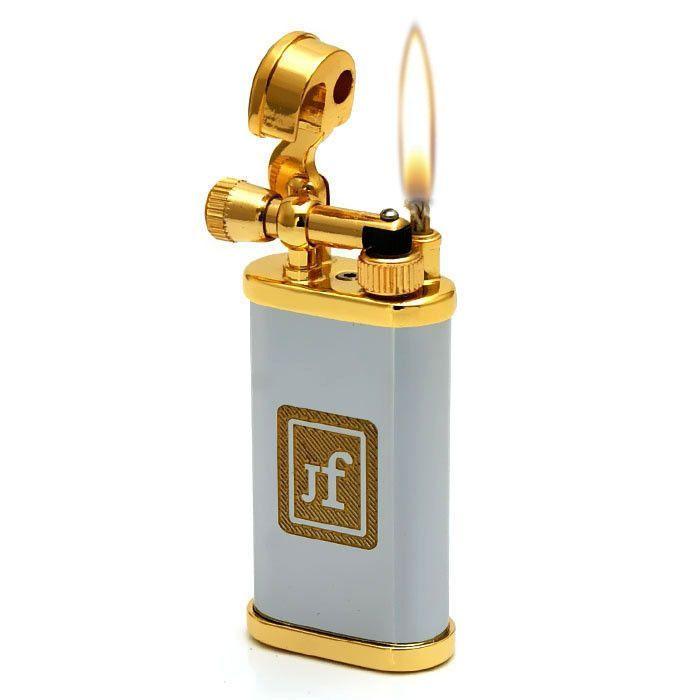 Antique Style Lift Arm Oil Flint Lighter: